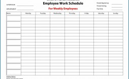 000 Imposing Free Employee Scheduling Template Highest Quality  Templates Weekly Work Schedule Printable Lunch