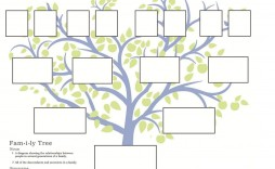 000 Imposing Free Family Tree Template Word Sample  Microsoft Document