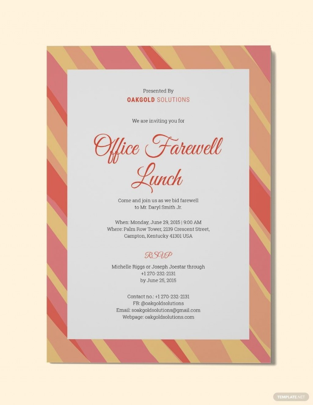 000 Imposing Free Luncheon Invitation Template For Word Sample  Holiday Party BrunchLarge