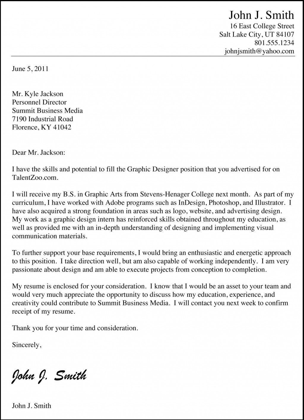 000 Imposing Good Cover Letter Example Download Highest Quality  WordLarge