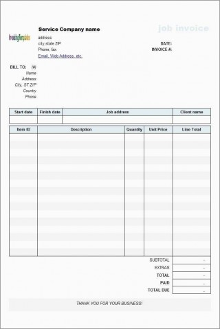 000 Imposing Microsoft Excel Invoice Template Free Highest Quality  Service Download320