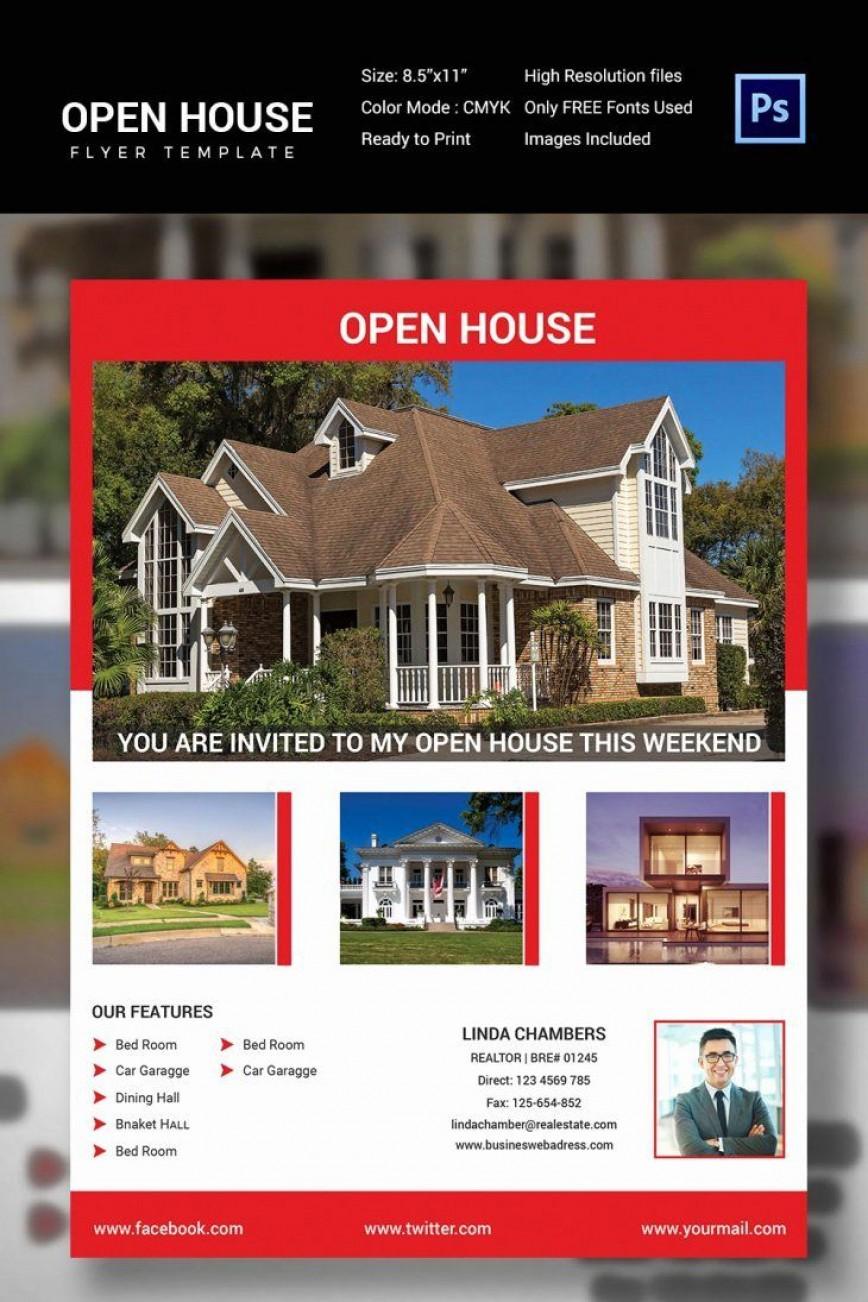 000 Imposing Open House Flyer Template Free Example  Christma School Microsoft Preschool