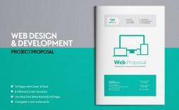 000 Imposing Web Design Proposal Template Indesign High Def