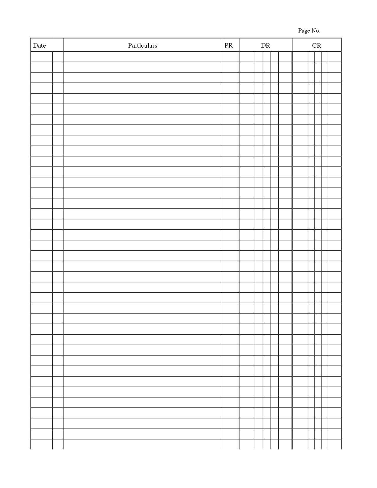 000 Impressive Accounting Journal Entry Template Highest Quality  Blank Download FreeFull