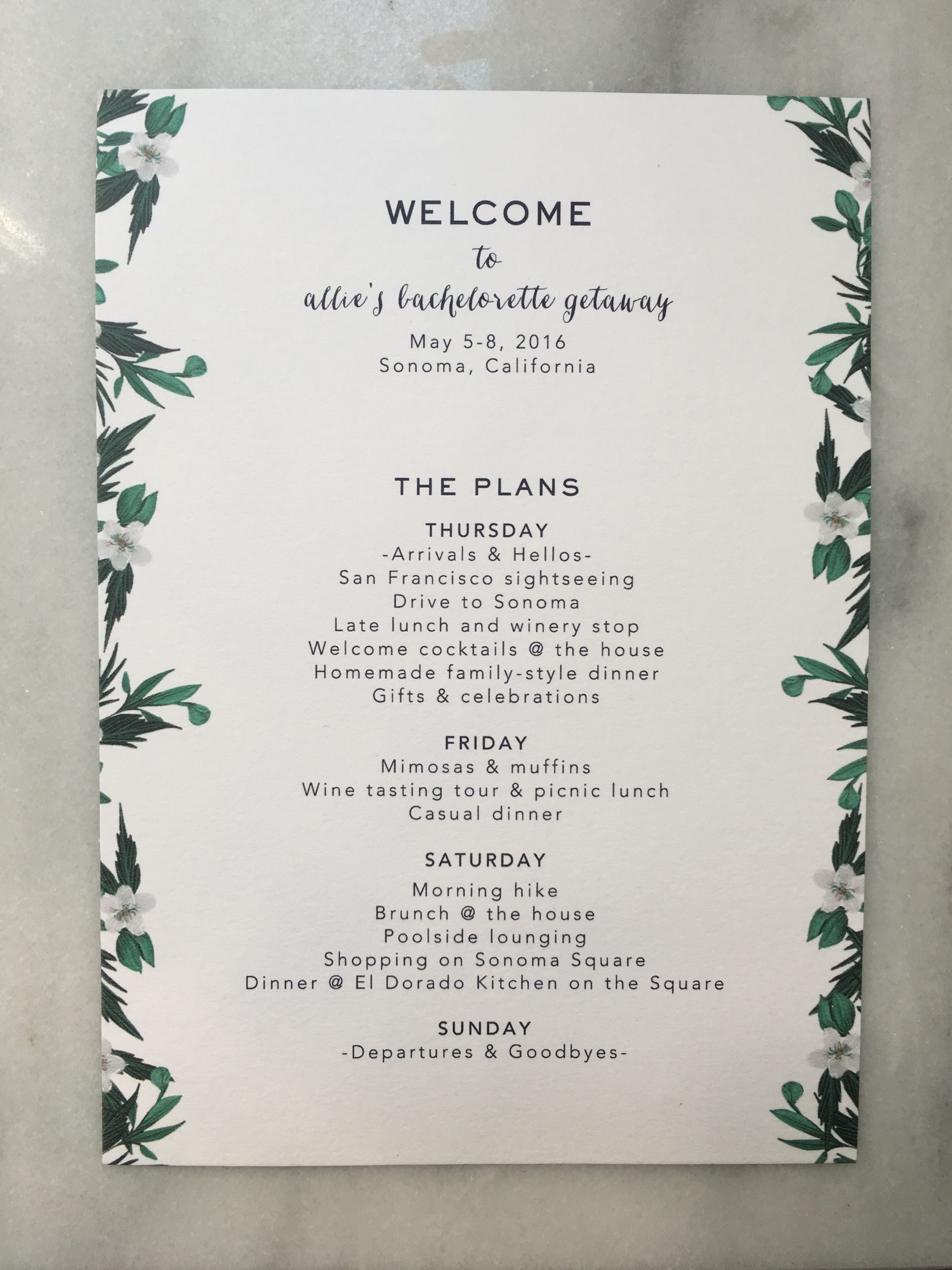 000 Impressive Bachelorette Itinerary Template Free Highest Quality  Party Editable Download1920