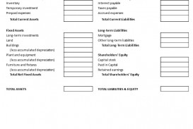 000 Impressive Basic Balance Sheet Template Picture  Simple Free For Self Employed Example Uk