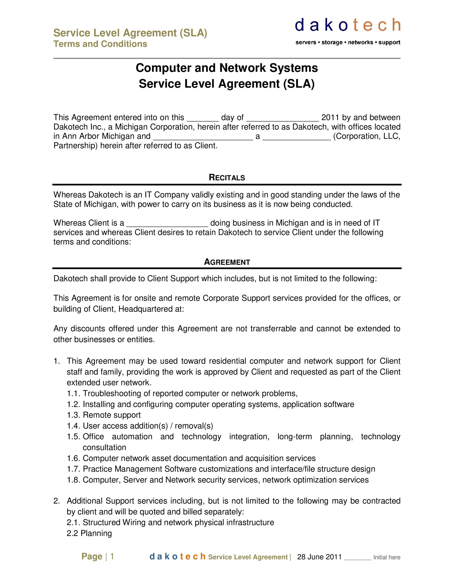 000 Impressive Busines Service Contract Template High Resolution  Small Agreement1920