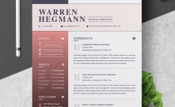000 Impressive Creative Resume Template Free Download Highest Clarity  For Microsoft Word Fresher Cv Doc