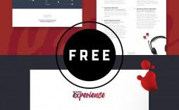000 Impressive Cv Design Photoshop Template Free  Resume Psd Download