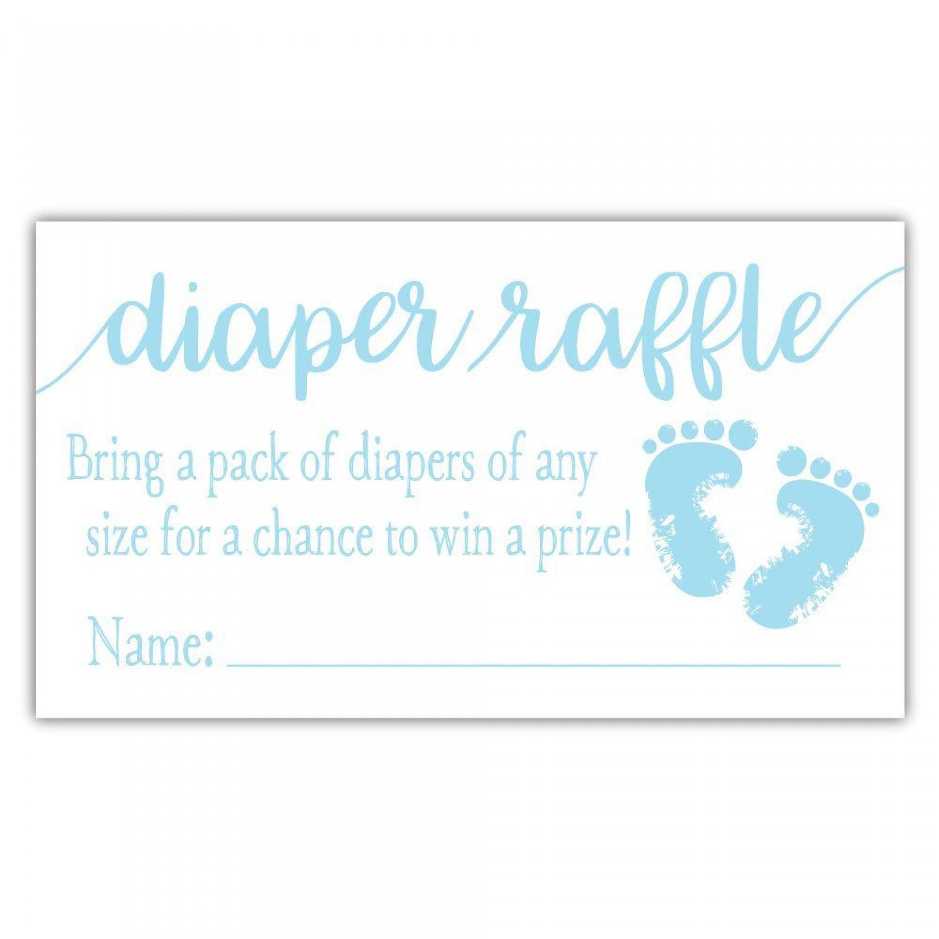 000 Impressive Diaper Raffle Ticket Template Example  Free Printable Download1920