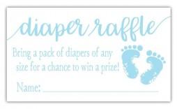 000 Impressive Diaper Raffle Ticket Template Example  Free Printable Download