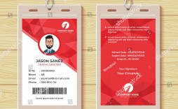 000 Impressive Employee Id Card Template High Def  Free Download Psd Word