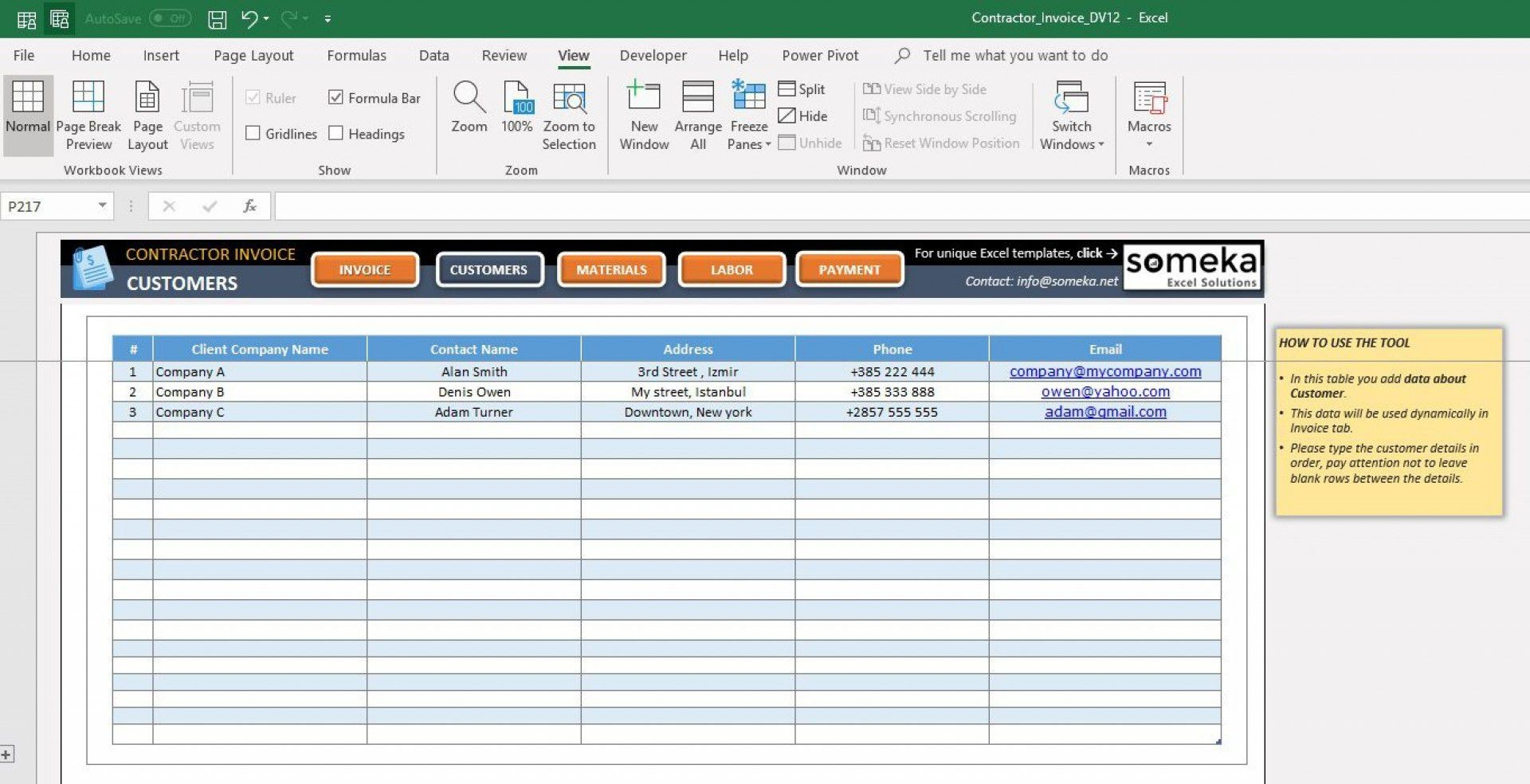 000 Impressive Excel Customer Database Template Sample  Xl Free Download1920
