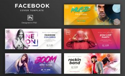 000 Impressive Facebook Cover Photo Photoshop Template  2019 Page Profile Picture Size