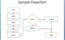 000 Impressive Flow Chart Template Excel Free Design  Blank For Download