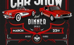 000 Impressive Free Car Show Flyer Template Highest Clarity  Psd And Bike