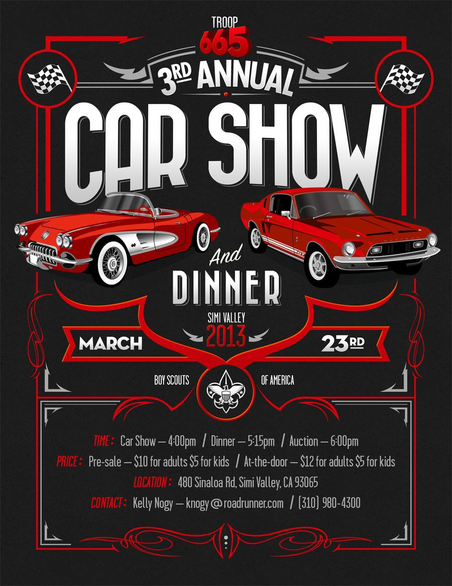 000 Impressive Free Car Show Flyer Template Highest Clarity  Psd And BikeFull