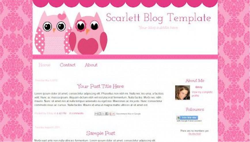 000 Impressive Free Cute Blogger Template High Def  Templates