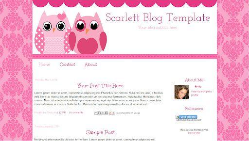 000 Impressive Free Cute Blogger Template High Def  TemplatesFull