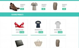 000 Impressive Free Ecommerce Website Template Download Inspiration  Shopping Cart Bootstrap 3