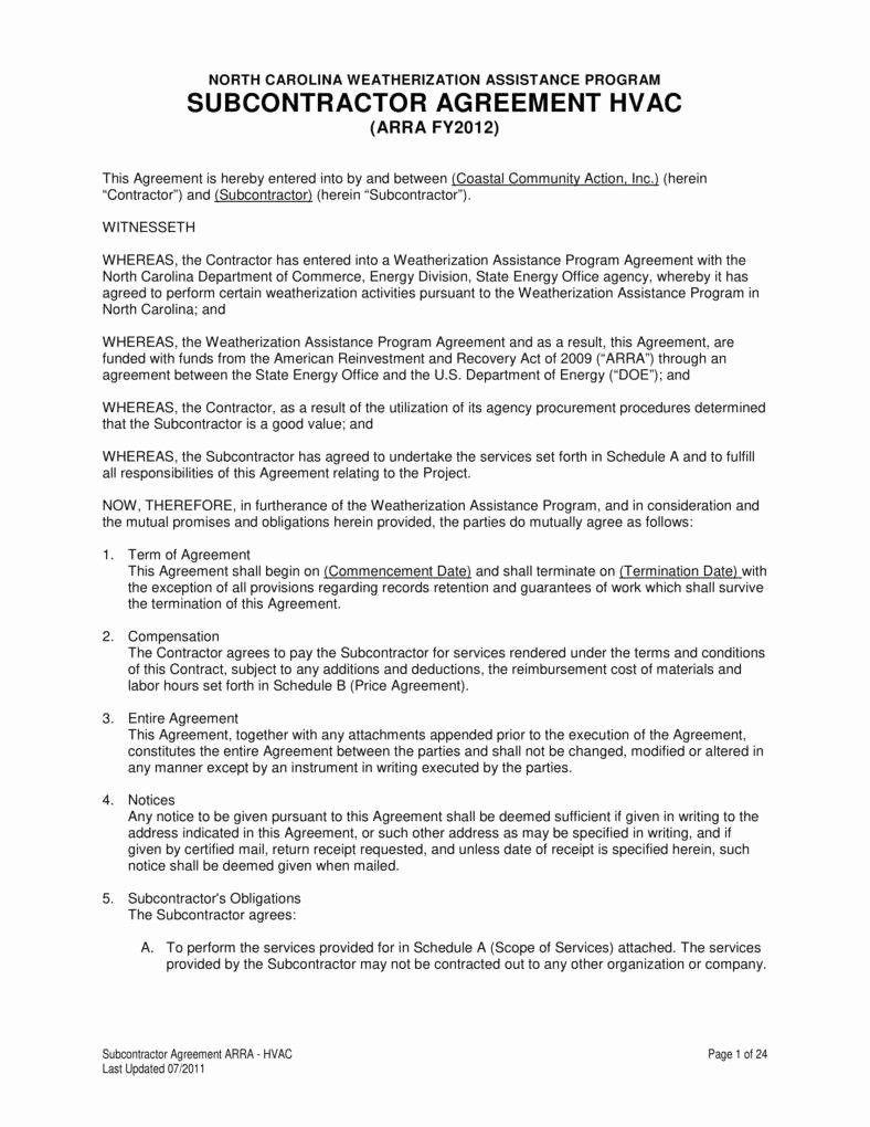 000 Impressive Free Hvac Preventive Maintenance Agreement Template Photo Full