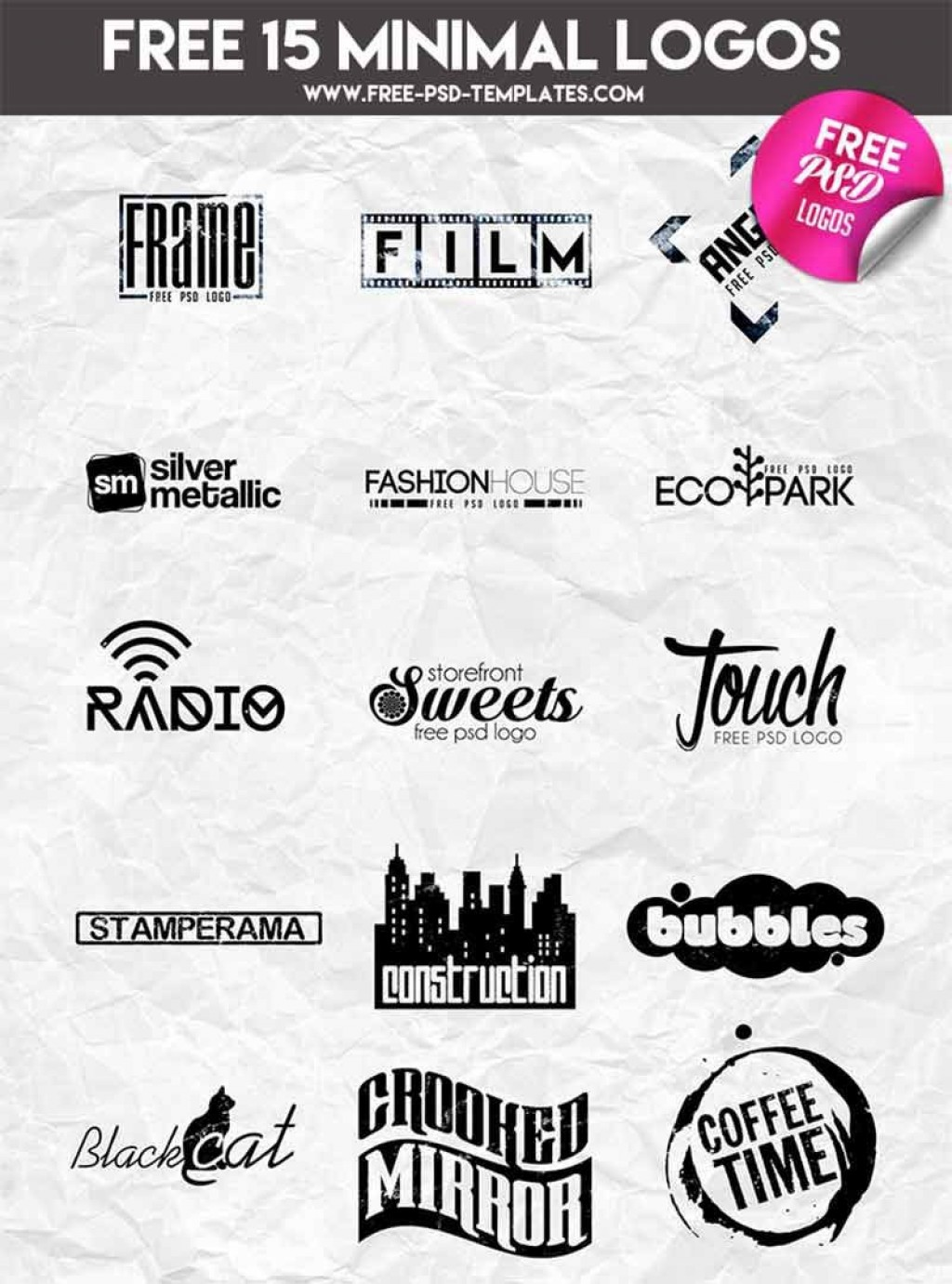 000 Impressive Free Psd Logo Template High Definition  Templates Design For Photographer DjLarge