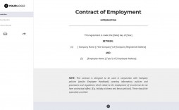 000 Impressive Free Service Contract Template Uk Image  Director