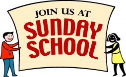 000 Impressive Free Sunday School Flyer Template Sample  Templates