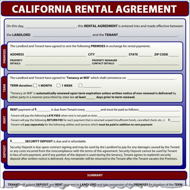 000 Impressive Generic Rental Lease Agreement Nj Design  Sample728