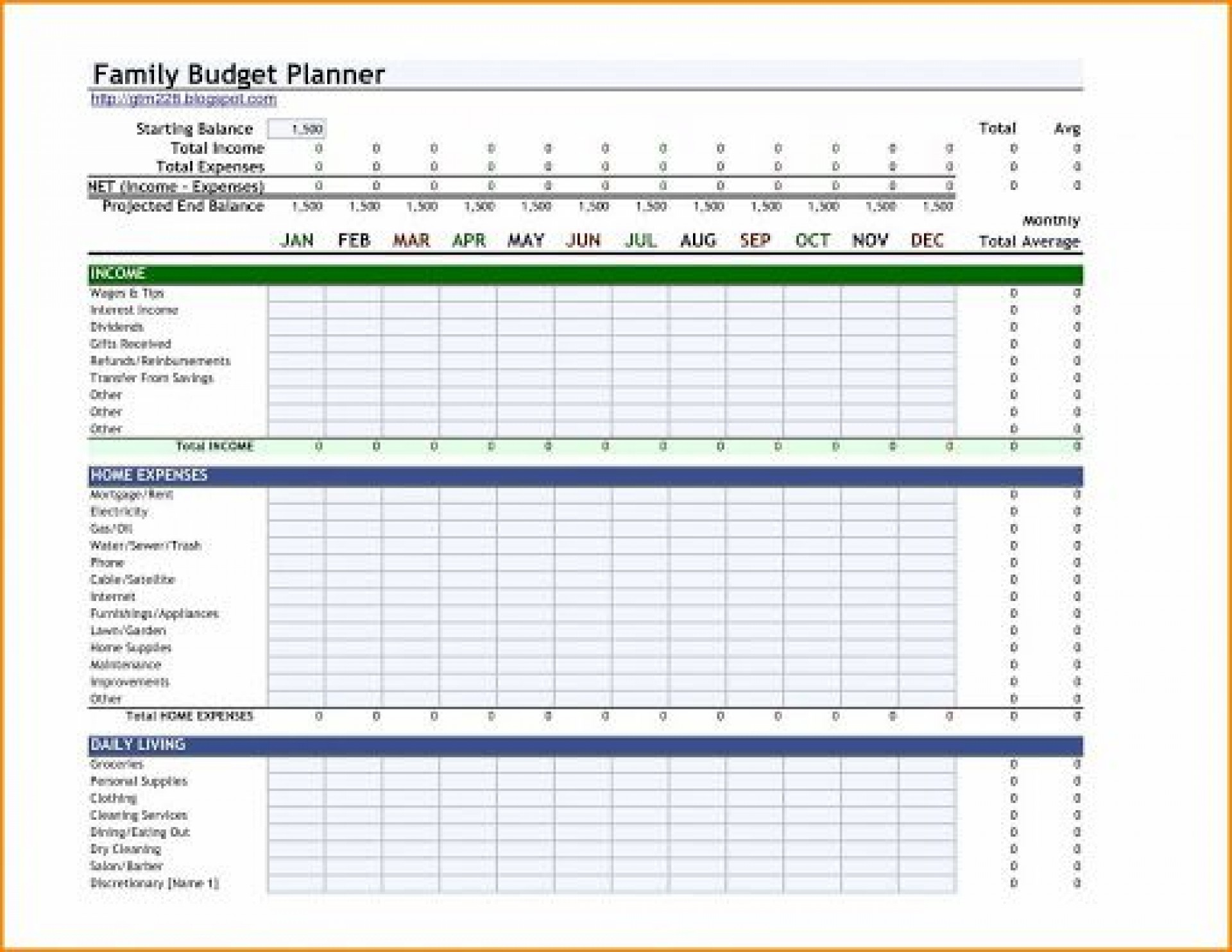 000 Impressive Indian Monthly Budget Excel Spreadsheet Template Example 1920