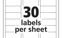 000 Impressive Microsoft Word Addres Label Template 30 Per Sheet Picture