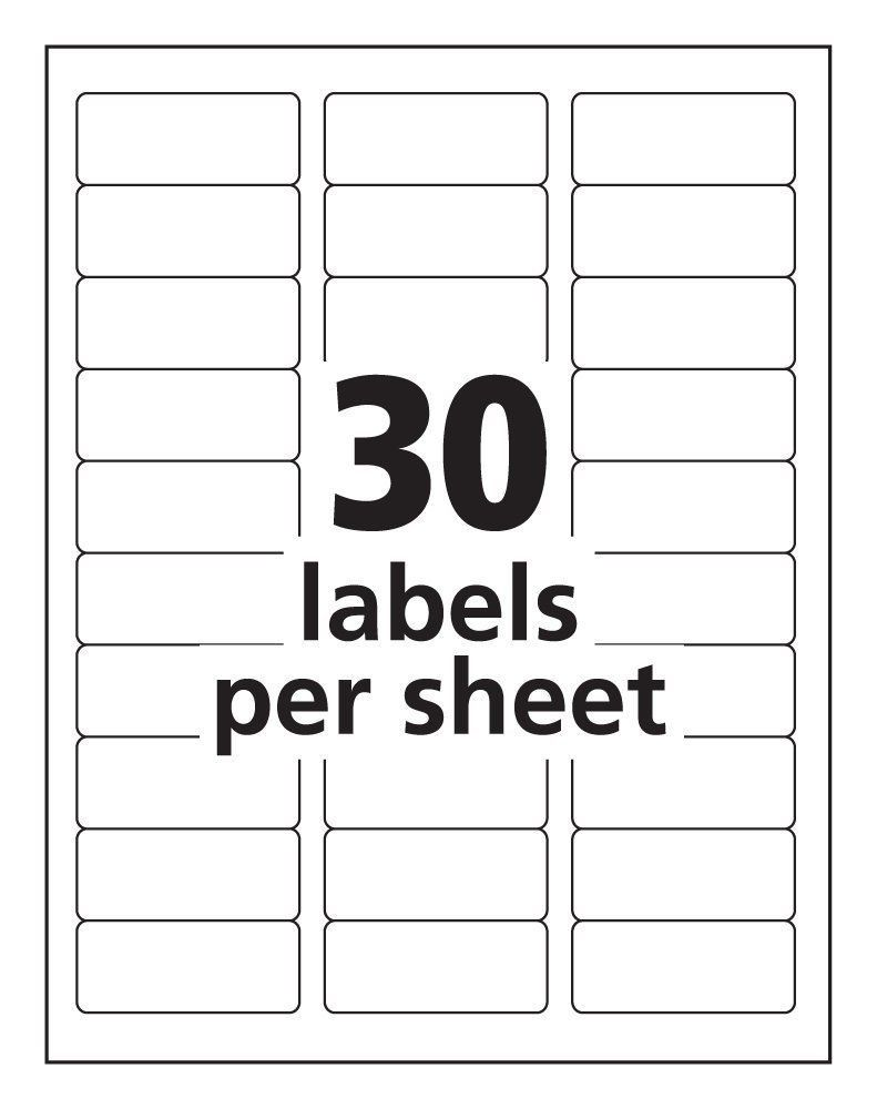 000 Impressive Microsoft Word Addres Label Template 30 Per Sheet Picture Full
