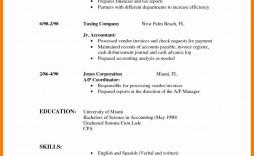 000 Impressive Part Time Job Resume Template Photo  Student Summary Example