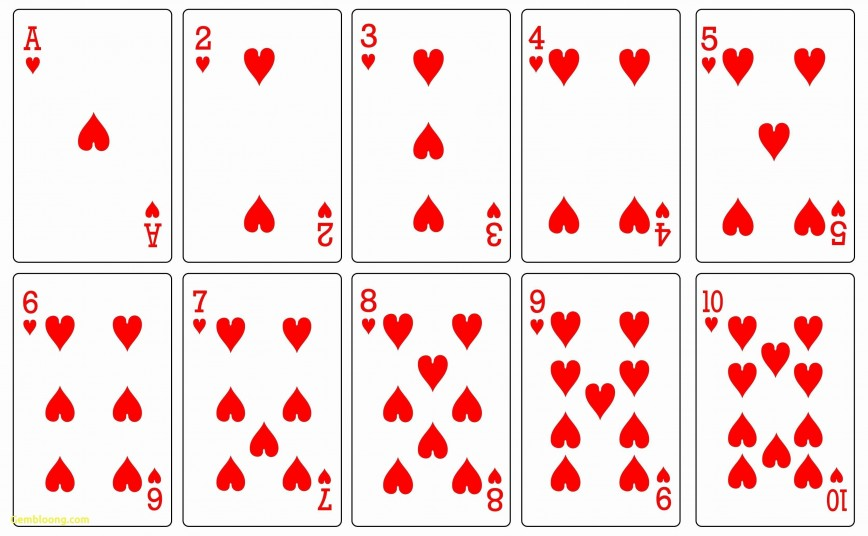 000 Impressive Playing Card Template Free Download Photo  Blank
