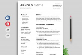 000 Impressive Professional Resume Template 2018 Free Download Idea