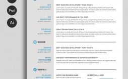 000 Impressive Professional Resume Template Free Download Word Photo  Creative