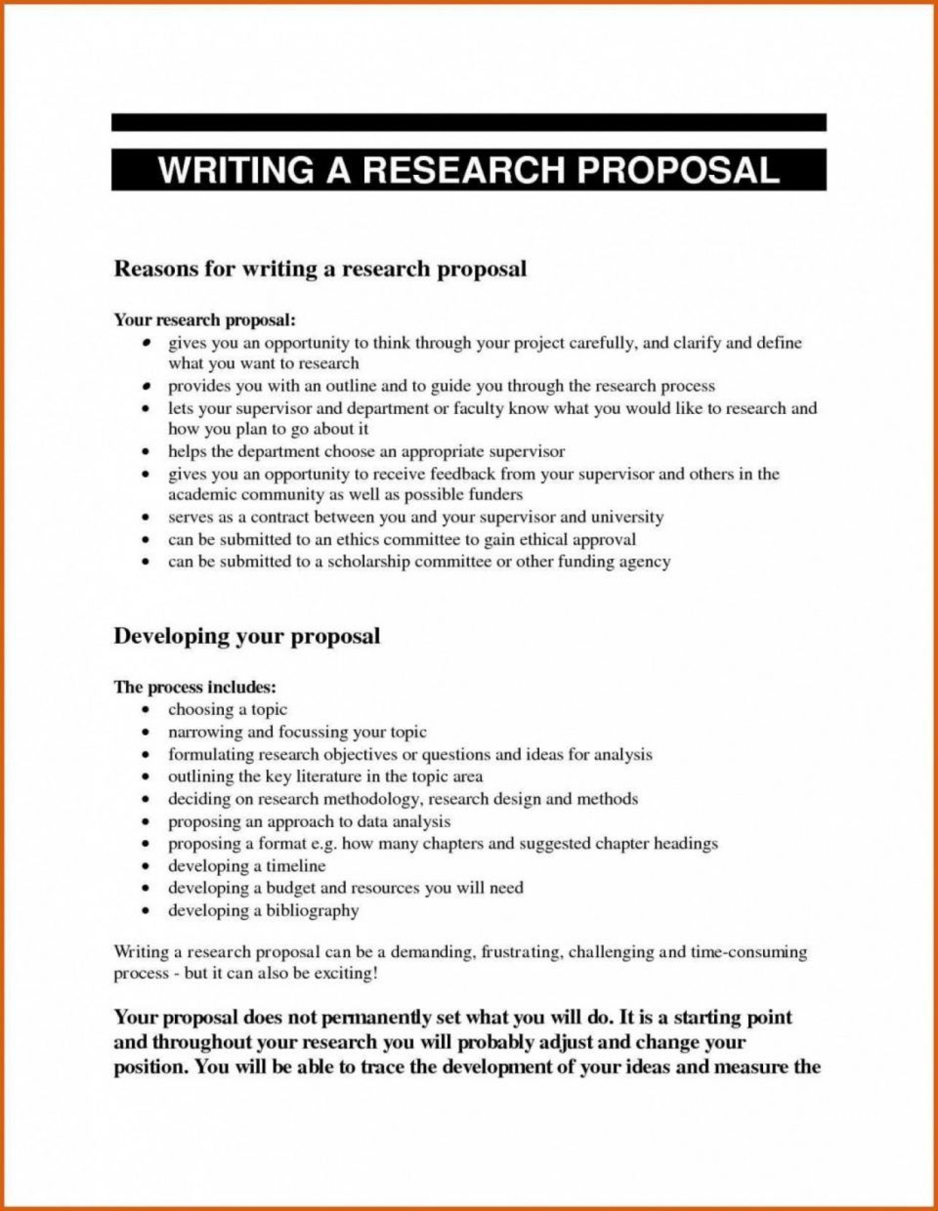 000 Impressive Research Topic Proposal Template Idea  Format Paper Example1920