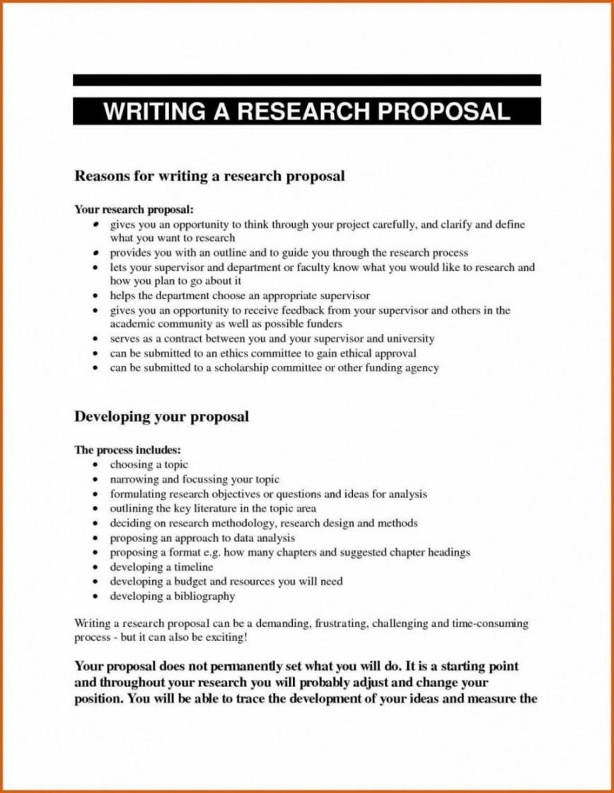 000 Impressive Research Topic Proposal Template Idea  Paper