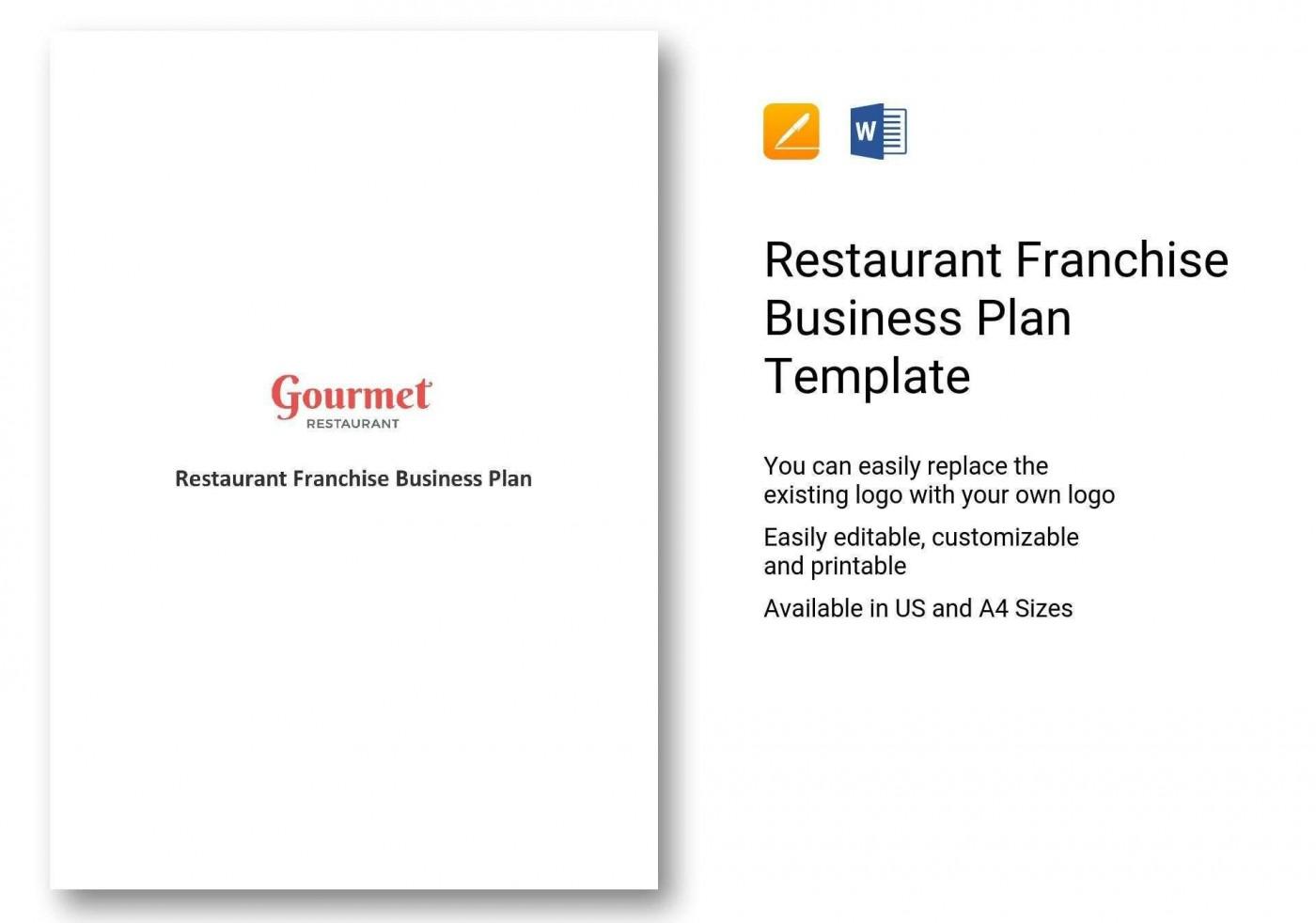 000 Impressive Restaurant Busines Plan Sample Uk Inspiration  Template Free1400