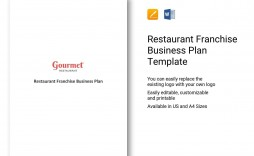 000 Impressive Restaurant Busines Plan Sample Uk Inspiration  Template Free