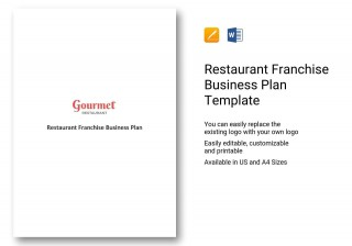 000 Impressive Restaurant Busines Plan Sample Uk Inspiration  Template Free320