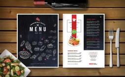 000 Impressive Restaurant Menu Template Free Download Psd Photo  Design