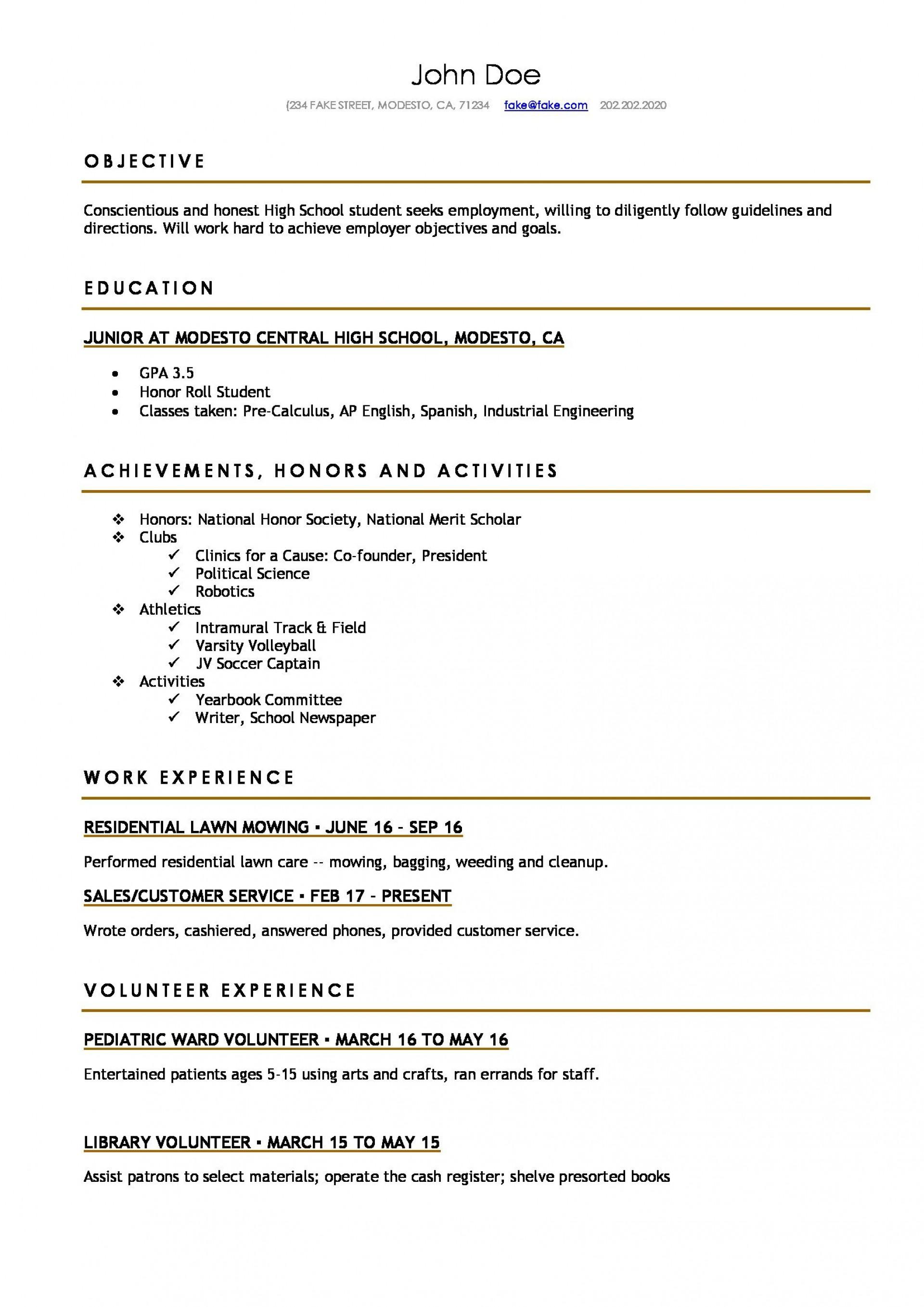 resume template high school student  addictionary