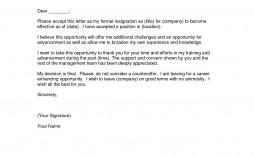000 Impressive Sample Resignation Letter Template Design  For Teacher Word - Free Downloadable