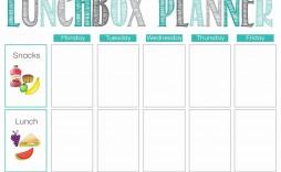 000 Impressive School Lunch Menu Template Sample  Monthly Free Printable Blank