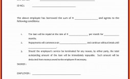 000 Impressive Simple Family Loan Agreement Template Australia Idea