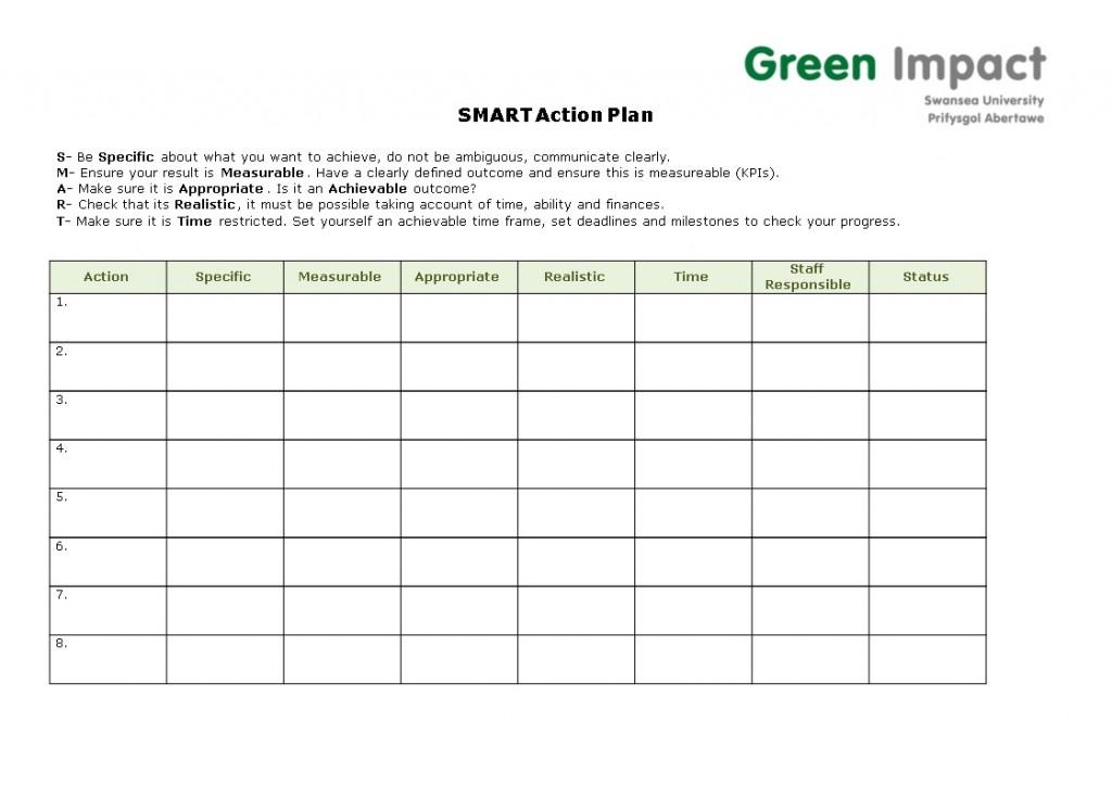 000 Impressive Smart Action Plan Template High Definition  Nh Download NursingLarge