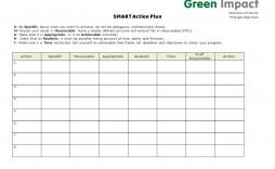 000 Impressive Smart Action Plan Template High Definition  Nursing Example For Busines Free