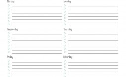000 Impressive Thing To Do List Template Idea