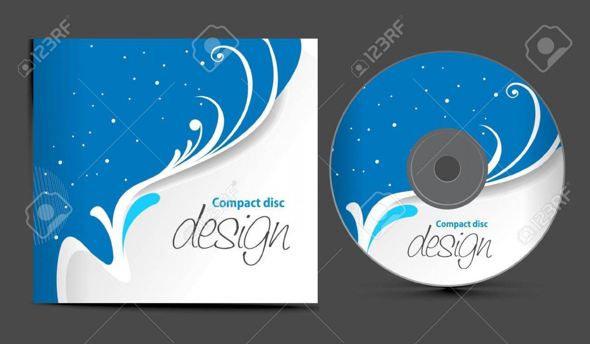 000 Impressive Vector Cd Cover Design Template Free Concept 1920